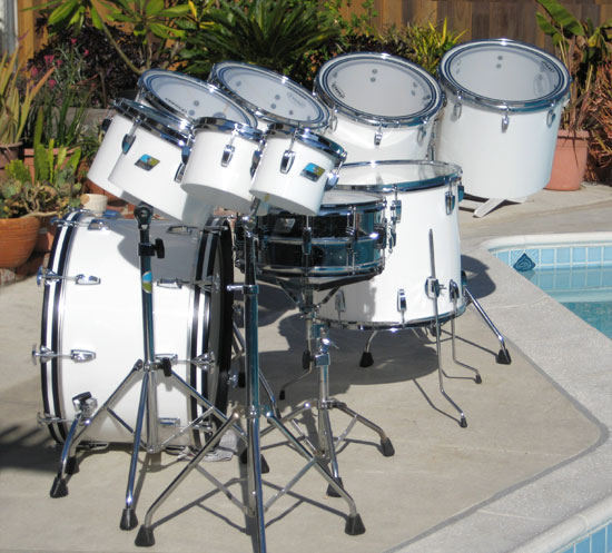 Mid '70s Vistalites | [DFO] Drum Forum